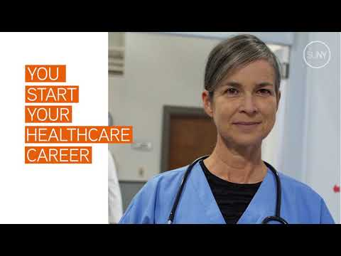 Start Your Career in Healthcare with SUNY's Online Training Center ...