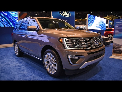 2018 Ford Expedition First Look: 2017 Chicago Auto Show