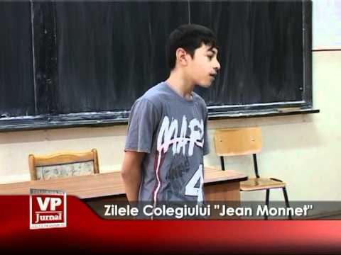 """Zilele Colegiului """"Jean Monnet"""""""