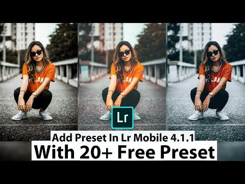 How To Edit Moody Green Dark - Lightroom Mobile Tutorial [Free
