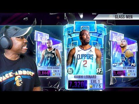 "ONYX KAWHI IN ""GLASS MEN"" PACK OPENING! NBA 2K Mobile Season 2 Gameplay Ep. 9"