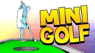 Mini Golf with the Boys - Golf it (Funny Moments)