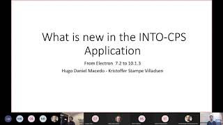 What is new in the INTO CPS Application