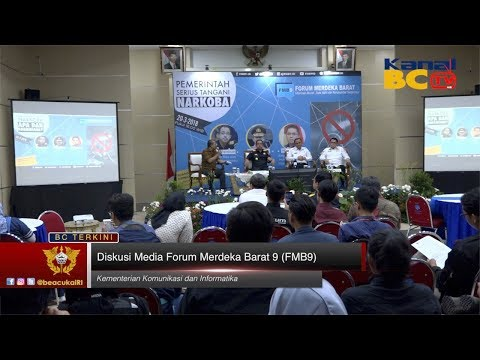Diskusi Media Forum Merdeka Barat 9 (FMB9)