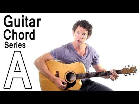Beginner Guitar Chords 2 - The A Major Chord