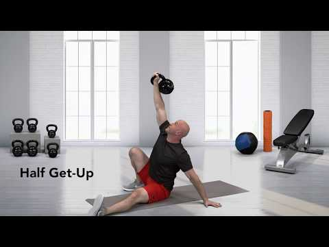 Kettlebell Half Turkish Get-up