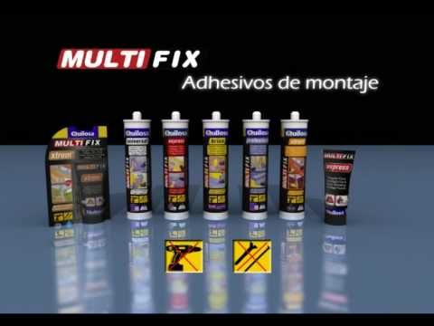Bricolaje fácil QUILOSA - Adhesivo de montaje MULTIFIX