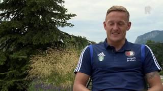 Feyenoord-speler Jens Toornstra: 'Vanuit de luwte opereren is goed voor ons'