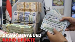 Iraqi Dinar Devaluation & Floating Dinar Exchange Rate