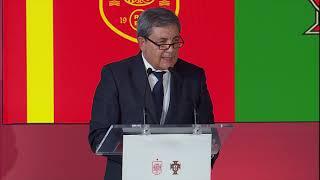 S.M. el Rey en la presentación de la Candidatura Ibérica de la  COPA MUNDIAL FIFA 203