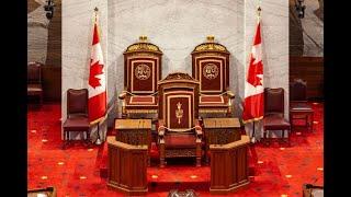 The Senate at the Senate of Canada Building