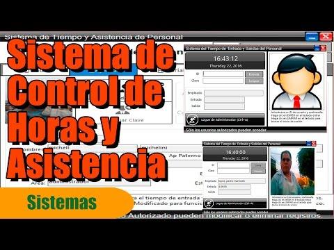 SISTEMA DE CONTROL DE ASISTENCIA Y TIEMPO PARA PERSONAL