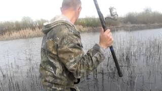 Ловля карася на озерах в апреле