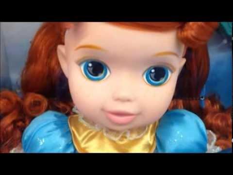 Disney Princess Deluxe Baby Merida Doll
