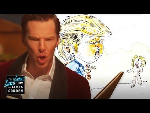 The Tale of Election 2016 w/ Benedict Cumberbatch (видео)