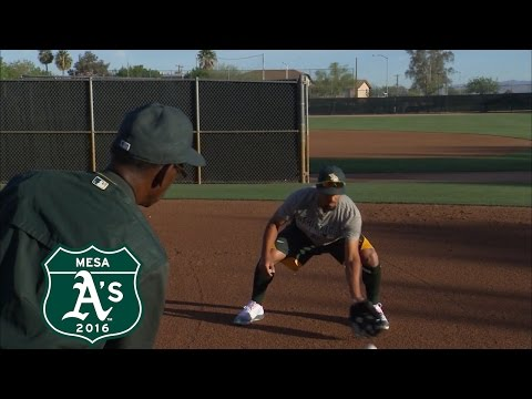 Marcus Semien's Shortstop Position Training