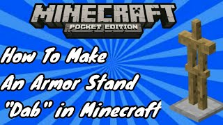 how to make a armor stand in minecraft pocket edition - मुफ्त