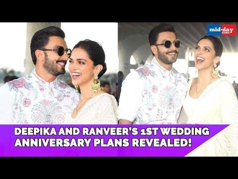 Deepika Padukone and Ranveer Singh's 1st wedding anniversary plans revealed!