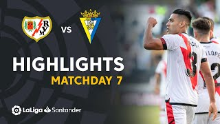 Resumen de Rayo Vallecano vs Cádiz CF (3-1)