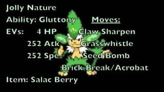 Simisage  - (Pokémon) - Black and White Analysis: Simisage/Yanakkie