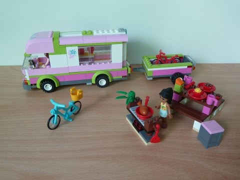 Vidéo LEGO Friends 3184 : Le camping-car