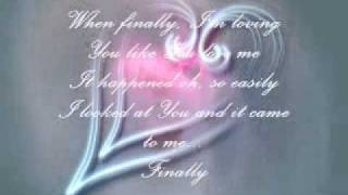 """Finally"" W/Lyrics - Gary Chapman"