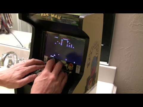 Cool Dad Builds Mini Arcade Machine For His Son