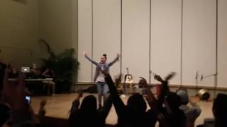 Tatiana Manaois sings B.O.M.O LIVE SPAHM SHOWCASE 10/27