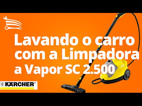 Limpadora a Vapor 1.5kW 1500W 0.8 Litro  - Video