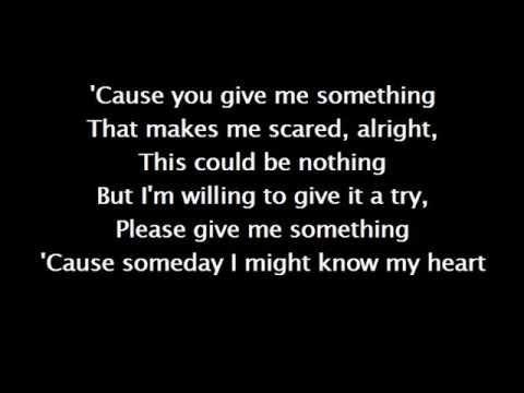 You give me something - James Morrison (karaoke)