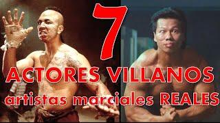 """Actores """"villanos"""" de peliculas que son expertos en artes marciales en la vida real"""