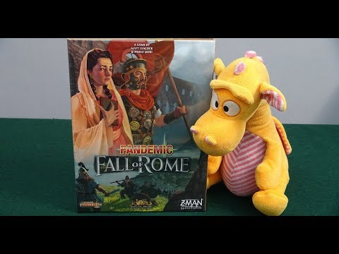 Pandemic: Fall of Rome - Unboxing
