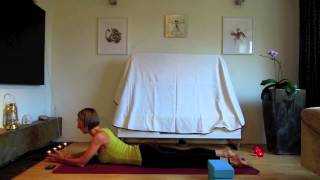 Yin Yoga - hips and lower back (in English)