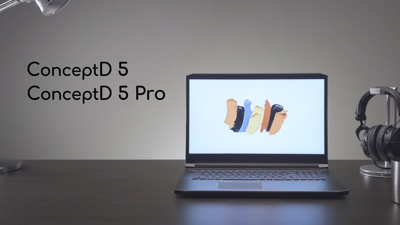 Ноутбук Acer ConceptD 5 Pro CN515-71P Black (NX.C4YEU.00K) video preview