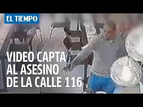 El video del asesinato en la calle 116 | EL TIEMPO