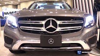 2017 Mercedes-Benz GLC-Class GLC 300 4matic - Exterior, Interior Walkaround-2016 New York Auto Show