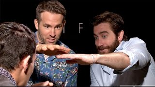 Ryan Reynolds and Jake Gyllenhaal Freak Out UNCENSORED MAGIC