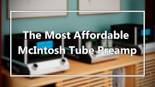 Unboxing McIntosh C8 Tube Preamp