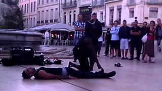 preview picture of video 'Street Breakdance, Montpellier, 06/06/2013'