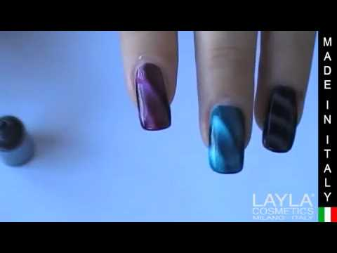 Layla Magneffect Nail Polish - Application Method