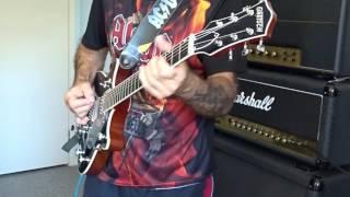AC/DC Meltdown Malcolm Young Rhythm Guitar