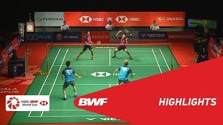 PERODUA Malaysia Masters 2019 | MD - F - HIGHLIGHTS | BWF 2019