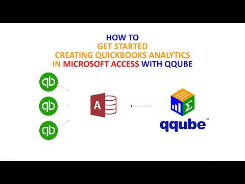 Creating Quickbooks analytics in Microsoft Access using QQube