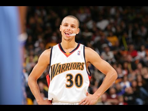Stephen Curry's First NBA Game!