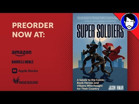Unboxing My New Book - SUPER SOLDIERS!!