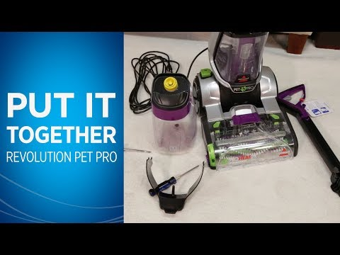 ProHeat 2X® Revolution™ Pet Pro Assembly Video