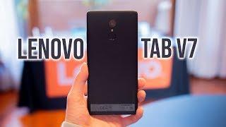 Lenovo Tab V7: Return of the Phablet