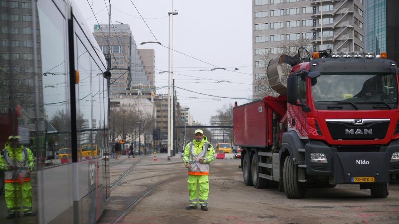 Geen tram Churchillplein thumbnail