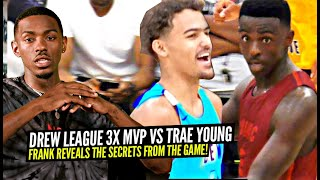3x Drew League MVP & Trae Young GO AT IT!! Frank Nitty Reveals THE SECRETS From The Match-Up!