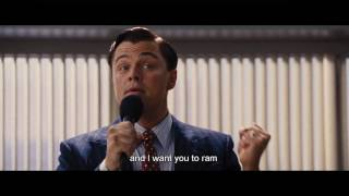 The Wolf of Wall Street – Inspirational Speech by Leonardo DiCaprio